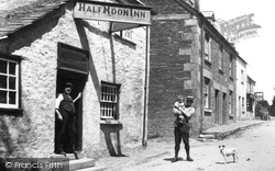 The Half Moon Inn 1908, Stoke Climsland