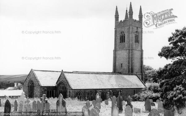 Stoke Climsland, the Church c1960