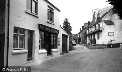 Stoke Gabriel, Post Office Corner c.1960