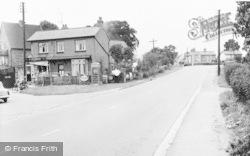 Stoke Hammond, Main Road And Post Office c.1960