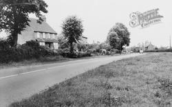 Stoke Hammond, The Main Road c.1955