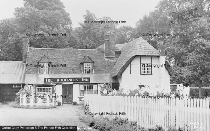 Photo of Stoke Mandeville, The Woolpack Inn c.1955