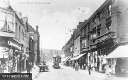 Stoke-on-Trent, Church Street c.1900