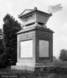 Cenotaph Of Poet Gray 1895, Stoke Poges
