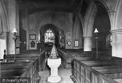 Church Interior 1895, Stoke Poges
