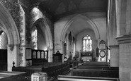 Stoke Poges, Church interior c1959