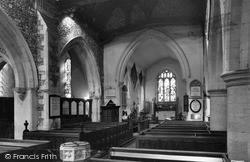 Church Interior c.1959, Stoke Poges