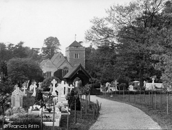 Stoke Poges, Church Of St Giles 1929