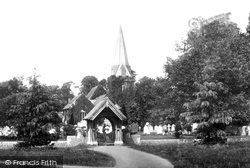Stoke Poges, Church Of St Giles And Lychgate 1895