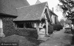 Stoke Poges, Church, The Porch 1929