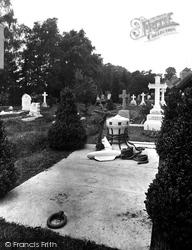 Churchyard, Sandy's Grave 1929, Stoke Poges