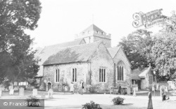 Stoke Poges, The Church St Giles c.1955