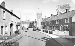 Stoke St Michael, Church Street c.1955