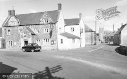 Stoke St Michael, Knatchbull Arms And Church c.1950