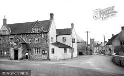 Stoke St Michael, Knatchbull Arms And Church Street c.1950