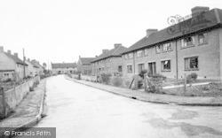 Stoke St Michael, Moons Hill Estate c.1955