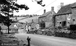 Stoke St Michael, Stoke Hill c.1950