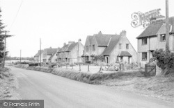 Stoke St Michael, Stoke Hill c.1955