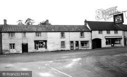 Stoke St Michael, The Square c.1950