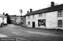 Stoke St Michael, The Square c.1955