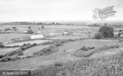 Stoke Sub Hamdon, General View From Ham Hill c.1955