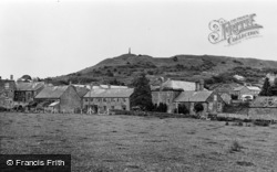 Stoke Sub Hamdon, Ham Hill From Langlands c.1955