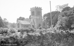 Stoke Sub Hamdon, St Mary's Church c.1955