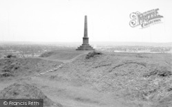 Stoke Sub Hamdon, The Summit From Ham Hill c.1955