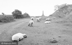 Stoke Sub Hamdon, The Summit, Ham Hill c.1955