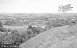 Stoke Sub Hamdon, The View From Ham Hill c.1955