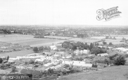 Stoke Sub Hamdon, The Village From Ham Hill c.1955