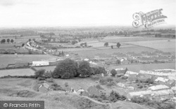 Stoke Sub Hamdon, View From Ham Hill c.1955