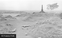 Stoke Sub Hamdon, View From Ham Hill c.1960