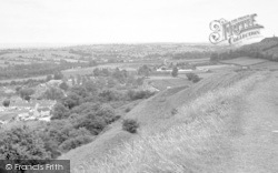 Stoke Sub Hamdon, View From The Hill c.1960