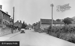 Stoke Sub Hamdon, West Street And Ham Hill c.1955