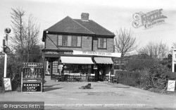 Stokenchurch, Karenza Cafe c.1955