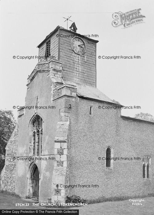 Photo of Stokenchurch, The Church c.1955