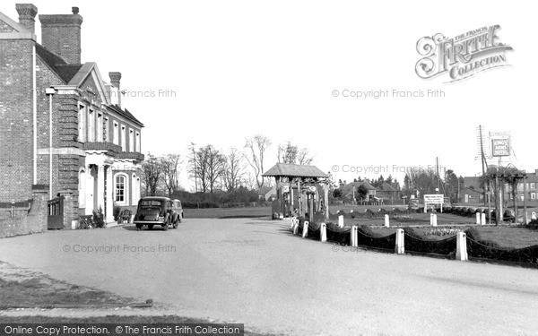 Photo of Stokenchurch, The King's Arms Hotel & Village Green c.1955