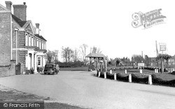 Stokenchurch, The King's Arms Hotel & Village Green c.1955