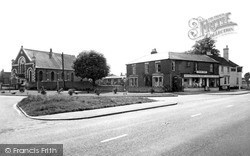 Stokenchurch, The Post Office And Methodist Church c.1955