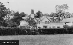 Stokes Bay, Alverbank House And Cottage Annexe c.1960