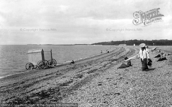Photo of Stokes Bay, The Beach 1898