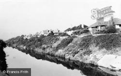 Stokes Bay, The Moat c.1955