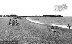 Stokes Bay, The Pier c.1955