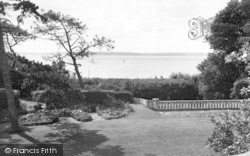 Stokes Bay, The Solent From Alverbank House c.1960
