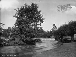 Bridge And Weir 1924, Stokesay
