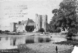 Castle c.1865, Stokesay