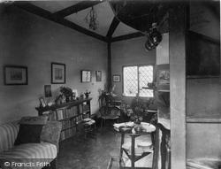 Castle, Gatehouse Parlour 1931, Stokesay