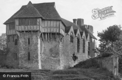 Castle North West c.1865, Stokesay