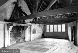 Castle, Room In The North Tower 1910, Stokesay